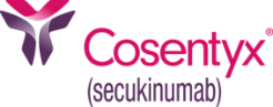 COSENTYX logo with registered trademark symbol